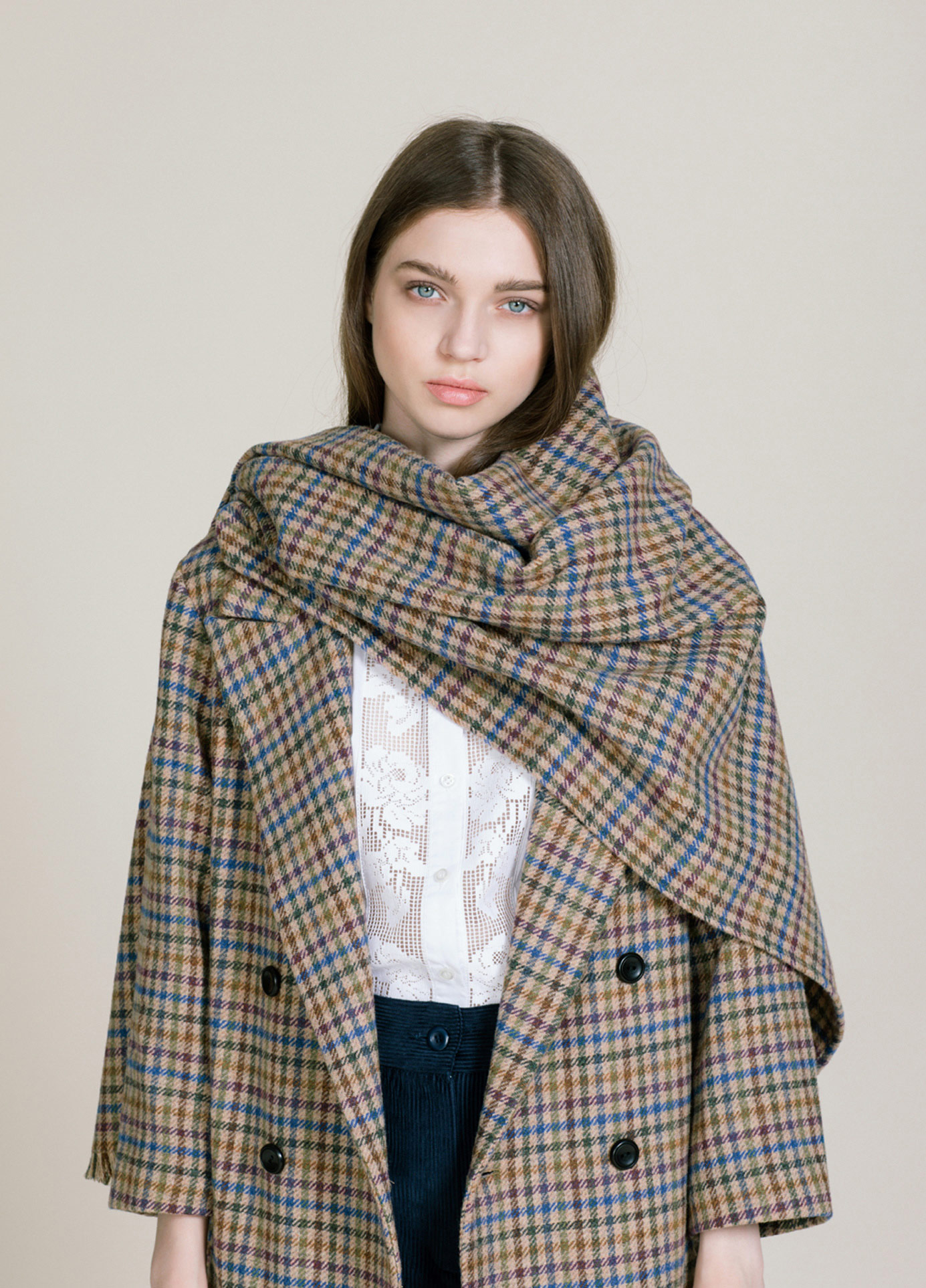 houndstooth shawl