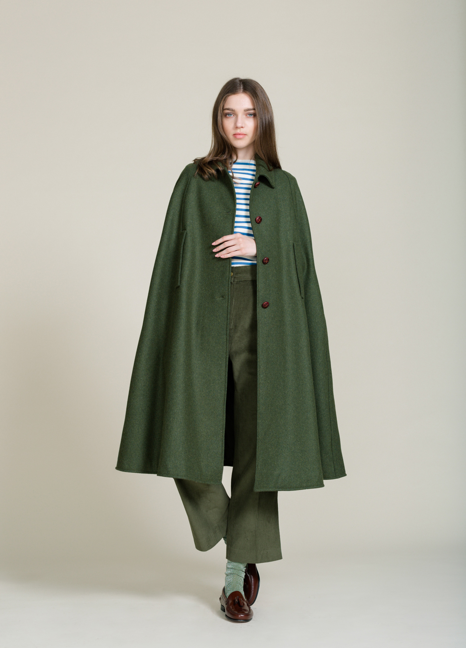 loden cape