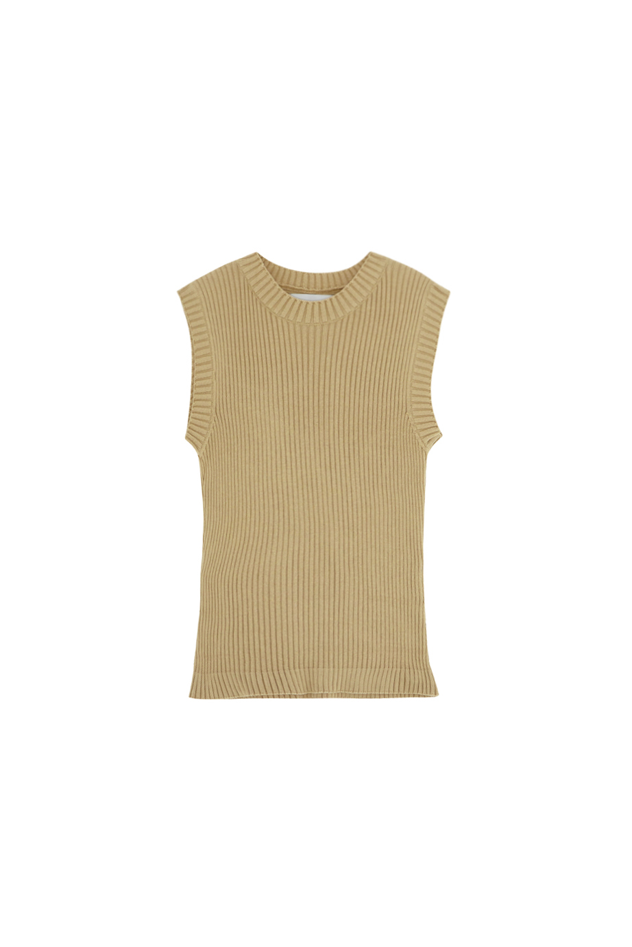 chaleco canale beige