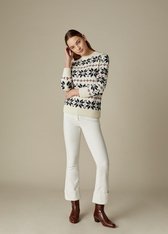Pantalón de terciopelo de algodón crudo September-2