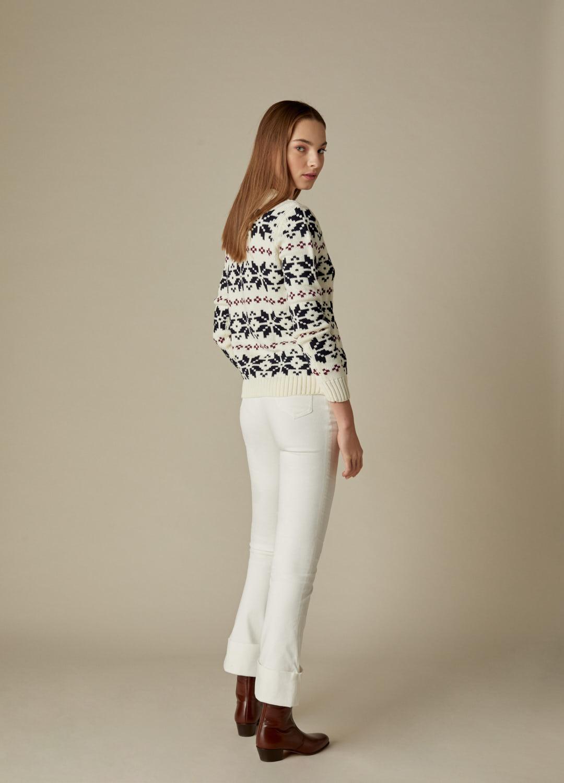 Pantalón de terciopelo de algodón crudo September-3